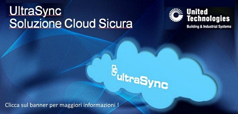 UltraSync: soluzione cloud sicura per la paittaforma Advisor advanced ATSx500A.